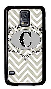 cool Samsung Galaxy S5 case Grey Chevron Pattern PC Black Custom Samsung Galaxy S5 Case Cover