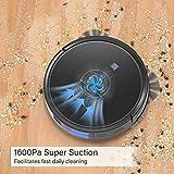 Robot Vacuum, GOOVI 1600PA Robotic Vacuum Cleaner