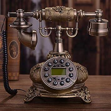 Telefono Fijo Vintagemanualidades, Teléfono, Obsequio, Oficina ...