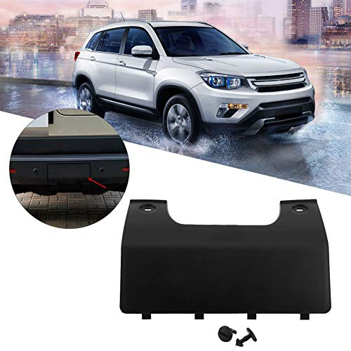 WonVon Bumper Car Tow Hook Kit,Car Rear Bumper Towing Eye Hook Cover with Clips for 2005-2012 Land Rover LR3 LR4