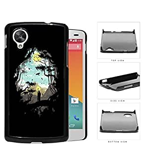 Jungle And Nomad Silhouette Hard Plastic Snap On Cell Phone Case LG Nexus 5