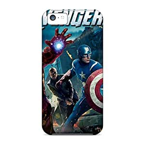 Excellent Hard Phone Cover For Apple Iphone 5c (Wet1852AEqH) Allow Personal Design Realistic Ant Man Skin
