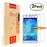 [2-Pack] Samsung Galaxy S5 Screen Protector, Ivencase [Premium Tempered Glass] Ultra Slim [0.26 mm] Clarity Clear Protective Screen Film for Samsung Galaxy S5 G900/S5 Neo