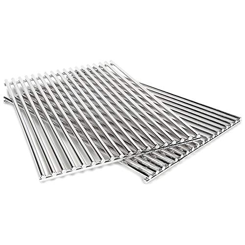Midwest Hearth Stainless Steel Cooking Grids for Weber Genesis 300 Series Barbecue Grills ()