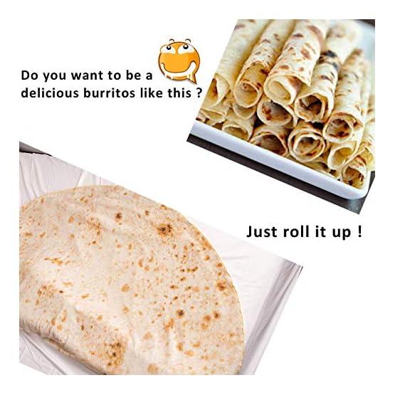 Burrito Blanket   Giant Tortilla Wrap Plush Blanket 2