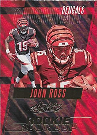 3f973285 Amazon.com: 2017 Panini Absolute Rookie Roundup Retail #21 John Ross ...