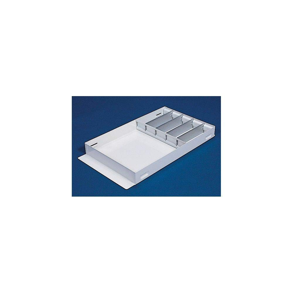 Weather Guard 6143 White Steel Divider Tray
