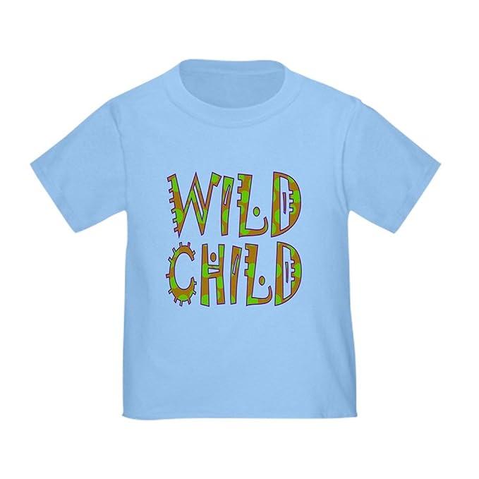 805cb2d4 CafePress Wild Child Toddler T-Shirt Cute Toddler T-Shirt, 100% Cotton
