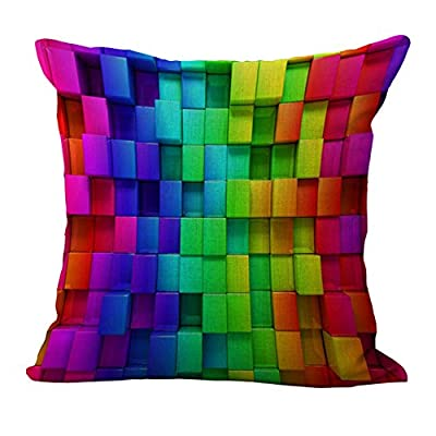 FairyTeller Geometric Home Decor Pillow Case Sofa Waist Throw Cushion Cover Capas De Almofada Quality First