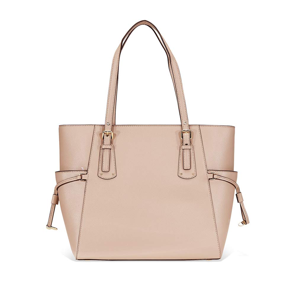 Michael Kors Voyager Textured Leather Tote- Fawn  Handbags  Amazon.com 5cdf8ccc1e
