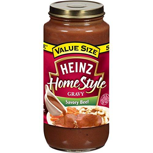 Heinz Savory Beef Gravy (18 oz Jars, Pack of 12) ()
