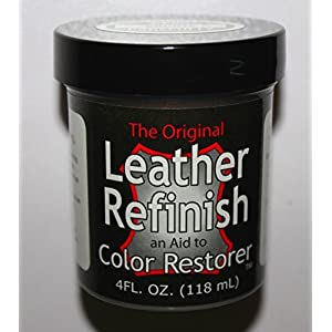 Dark Brown - Leather Refinish an Aid to Color Restorer (Leather Repair) (Vinyl Repair)