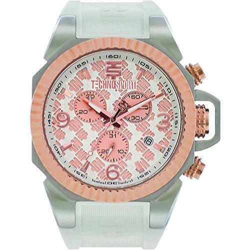 TechnoSport Women's Chrono Watch - ORIGAMI silver