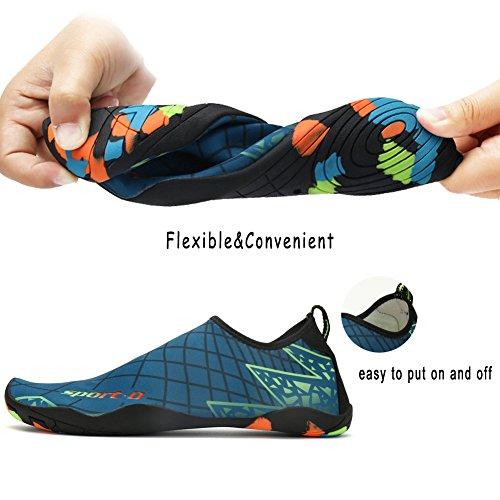 Outdoor Lightweight Quick Shoes for Black Mens Aqua Yoga Shoes Socks Swim Water Pool Dry Sports Womens Beach q46Rg