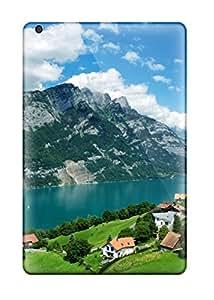New Style Premium mountain Lake Case For Ipad Mini- Eco-friendly Packaging