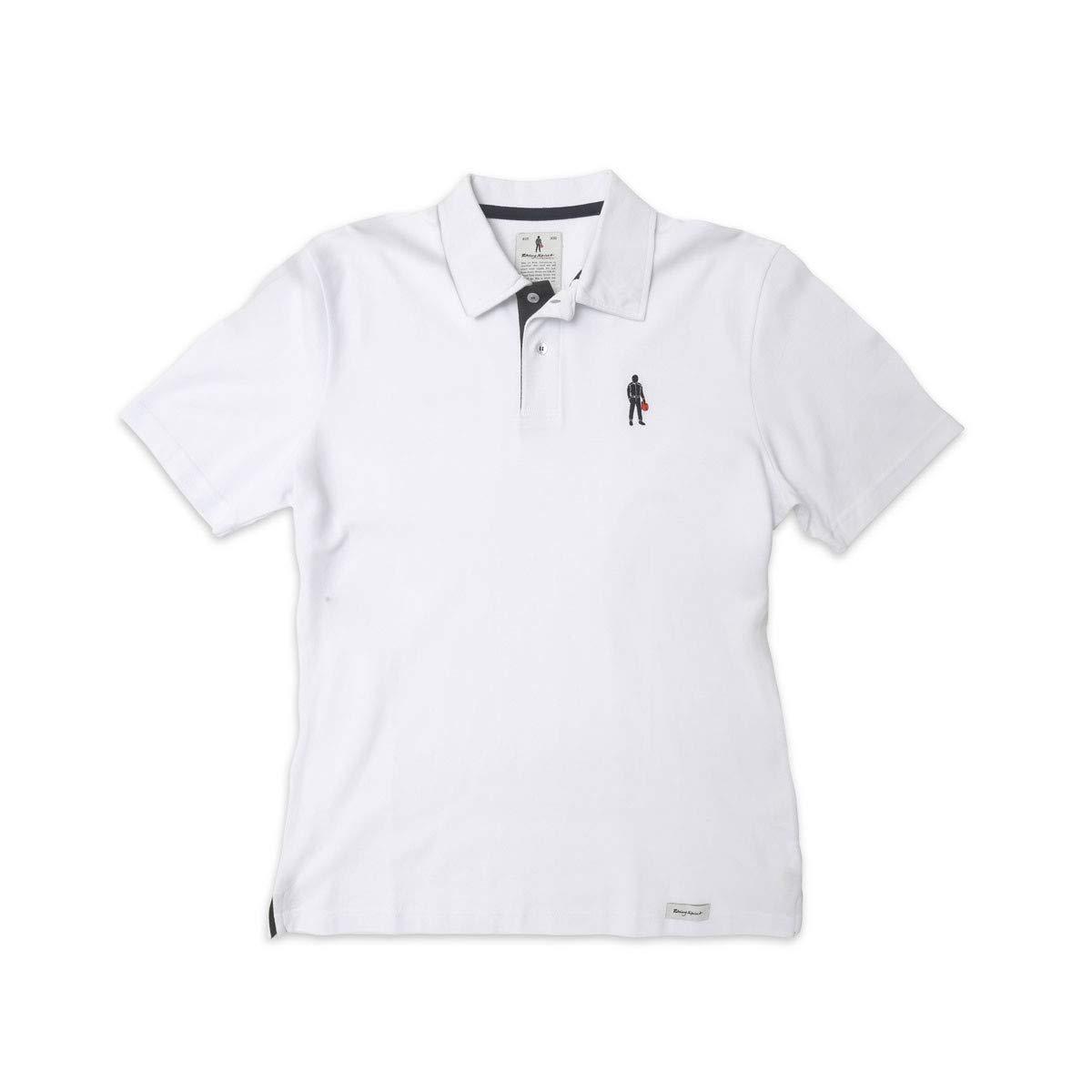 Racing Spirit Icon Polo Shirt White