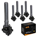 Pack of 6 Ignition Coils for Chrysler Dodge Plymouth V6 3...