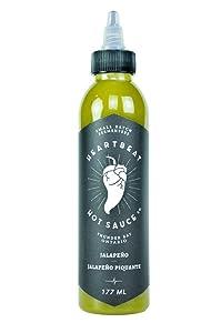 Heartbeat Hot Sauce - Jalapeno (1-bottle)
