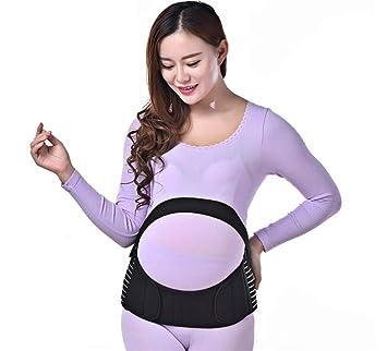 2fe629b5b JHKJ Correa Maternidad Superior Correa Soporte para Espalda Apoyo Postura  Trasera-Apoyo Embarazo - Cintura