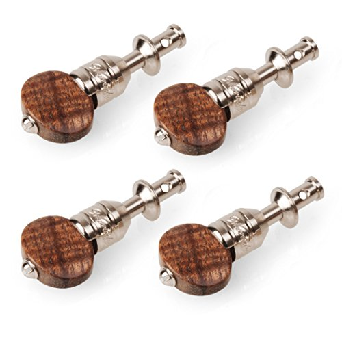 Waverly Ukulele Friction Tuning Pegs, Set of 4 with Koa Knobs by Waverly (Image #2)'