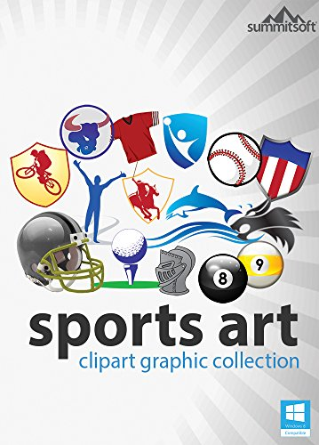 Sports Art ClipArt Graphic Collection for Windows [Download] by Summitsoft