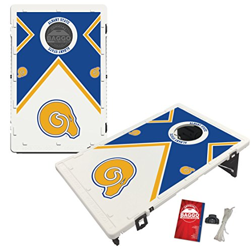Albany State Golden Rams Baggo Bean Bag Toss Cornhole Game Vintage Design by Victory Tailgate