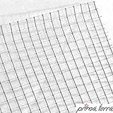 prima terra Nagetiergitter, Nagergitter, Mausgitter, Stahlgitter, Nagerdraht, Wühlmausgitter für Hochbeet bis 240x120cm