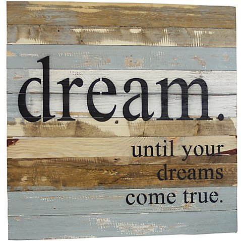 Wall Art Contemporary Style Dreams Come True by Sweet Bird & Co