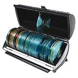 CD, DVD, Blu-Ray 100 Disc Media Storage Organizer Box