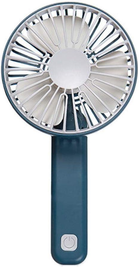 Mini ventilador plegable Manija ajustable de 3 velocidades ...