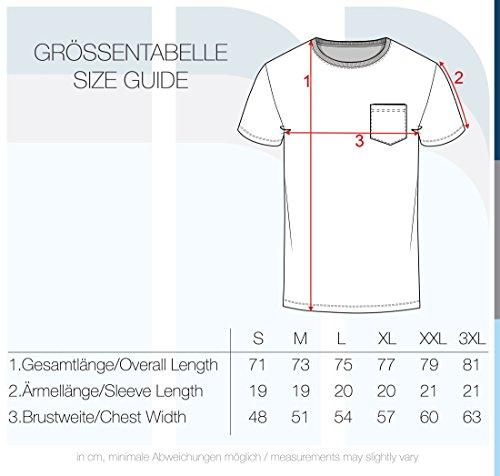 Homme Grey Rayures shirt Salu Pour Coton Rond Avec Chemise Light 100 Courtes 2325 T Encolure Manches solid Rayé À 4xv88w