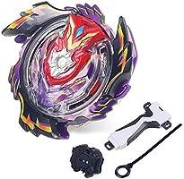infinitoo Toupie Burst avec Launcher Gyro Métal Super Combat| Battle Jouets Classiques pour Enfants Adulte| 1 Toupie + 1...