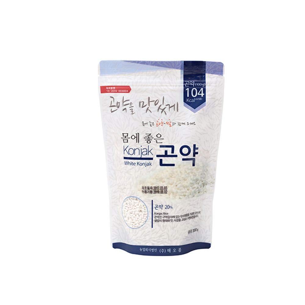 Konjak(Devil's-tongue) Rice 300g, Low Calorie, Korea