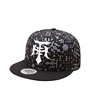 FayTop Fashion Snapback Hat Hip Hop Cap Flat Brim Baseball Cap Adjustable Dad Hat Trunker Hat Unisex