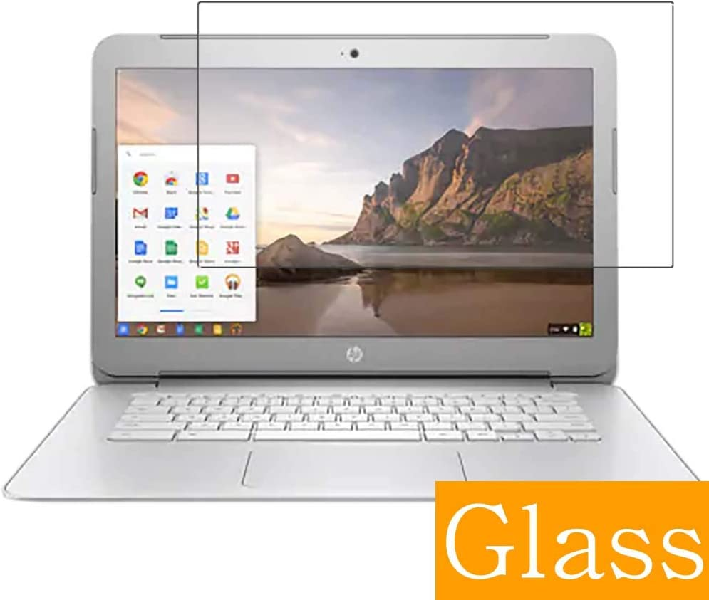 """Synvy Tempered Glass Screen Protector for HP Chromebook 14-ak000 si / ak013dx / ak050nr / ak040nr / ak060nr / ak031nr / ak010nr / ak041dx / ak040wm / ak045wm 14"""" Visible Area"""