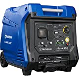 Westinghouse iGen4500 Super Quiet Portable Inverter Generator - 3800 Rated Watts and 4500 Peak Watts - Gas Powered - CARB Compliant
