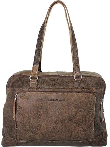 meilleure qualité Promotion de ventes bon ajustement Arthur & Aston – Leather Shoulder Bag ref_ast36150-b-marron ...