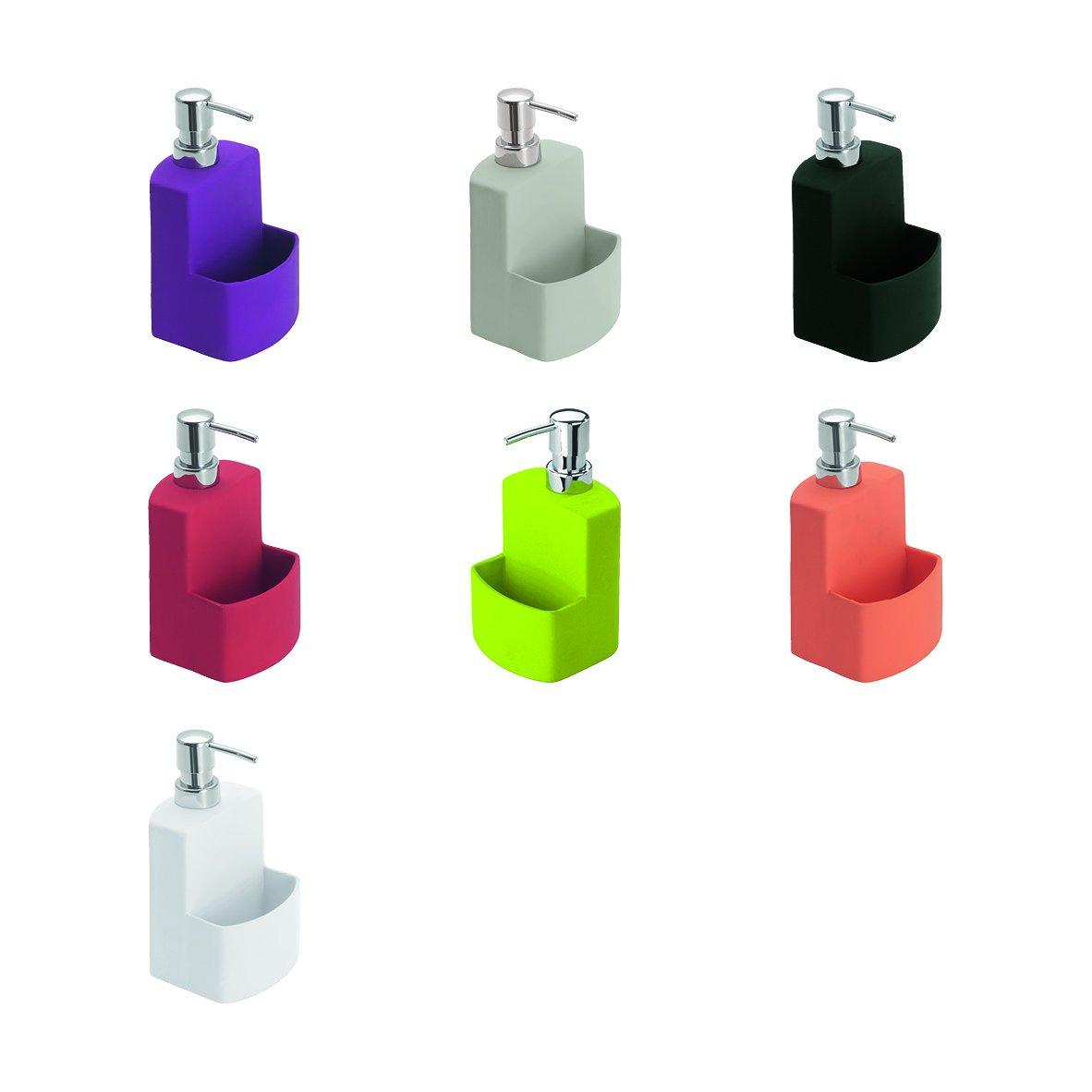 Wenko Festive Dosificador de l/íquido lavavajillas color gris