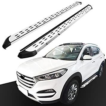 HEKA Side Step Fit para Tucson 2015-2018 Running Board Nerf Bar: Amazon.es: Coche y moto