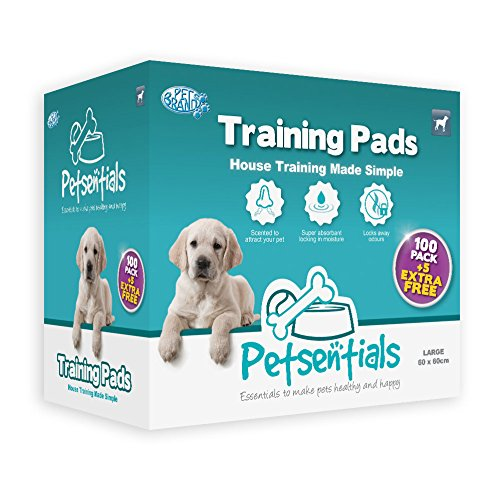 39 opinioni per Petsentials 100 pack Puppy Pads + 5 LIBERO