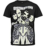 SYSTEM OF A DOWN - Elephant Ride - Men's T-Shirt XL Black