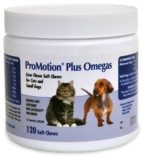 Promotion Plus Omegas Soft Chews Cats Small Dogs (120 ct) by Unknown