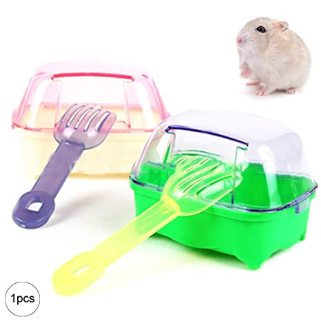 Newin Star Animales Suministros de baño hámster ratón Rata Jaula ...