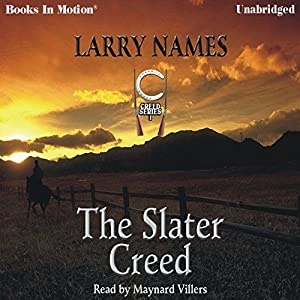 The Slater Creed Audiobook