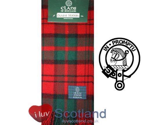 iLuv Dunbar Modern Plaid Scarf product image