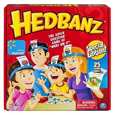 HedBanz Special Edition, Guessing Game for Kids and Adults with 25 Extra Cards (Edition May Vary) ( Ages 7 and UP ): Toys & Games