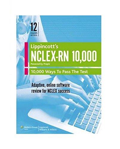 [Best] Lippincott's NCLEX-RN 10,000 - Powered by PrepU DOC