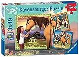 Ravensburger DreamWorks Spirit, 3X 49pc Jigsaw Puzzles