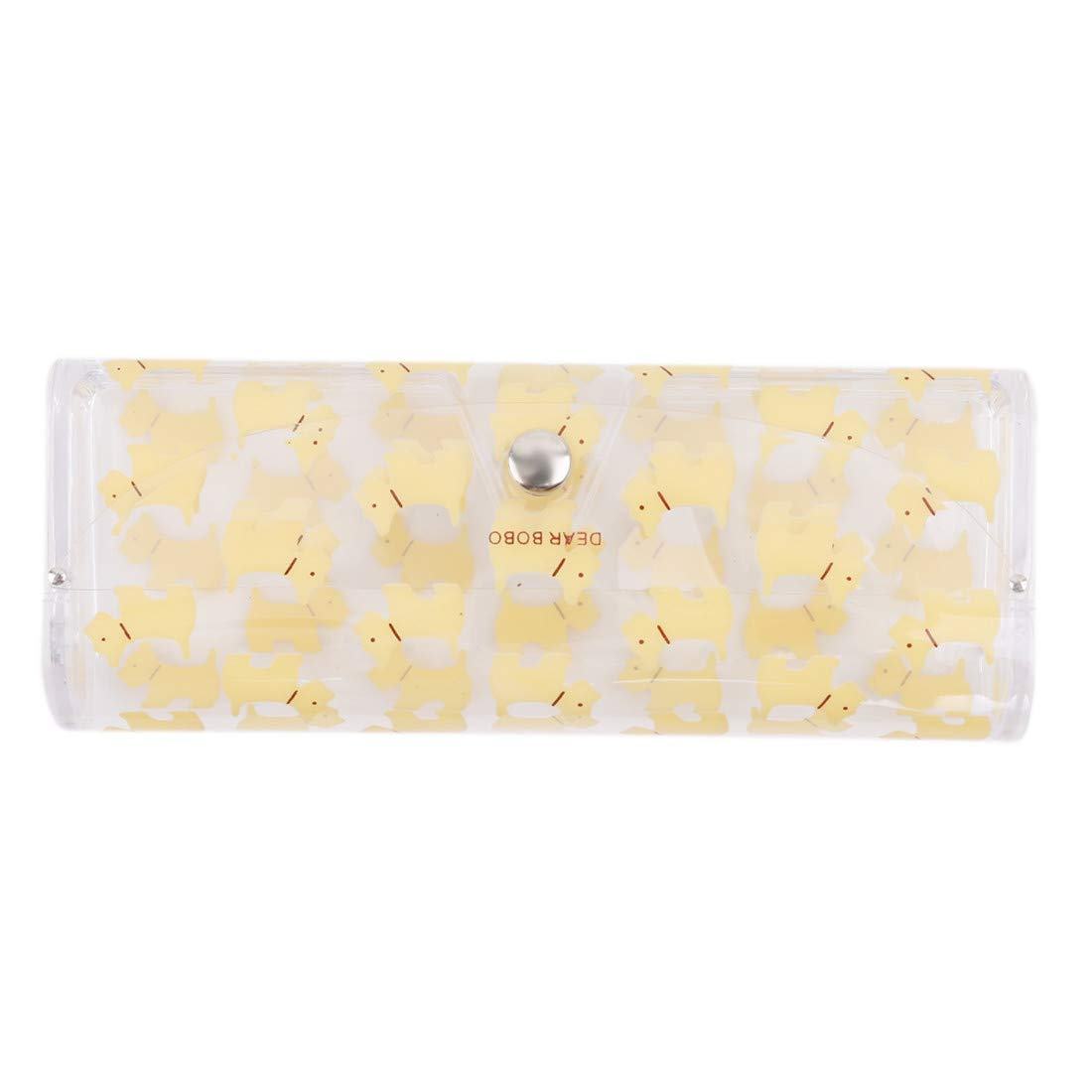 VWH Glasees Case Colorful Spectacles Protection Cases(Yellow)