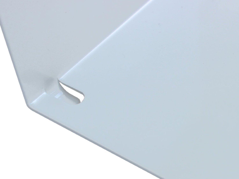 scaffale invisibile e fluttuante per libri Wenzl Onlinemarketing impilabile portata fino a 5 kg